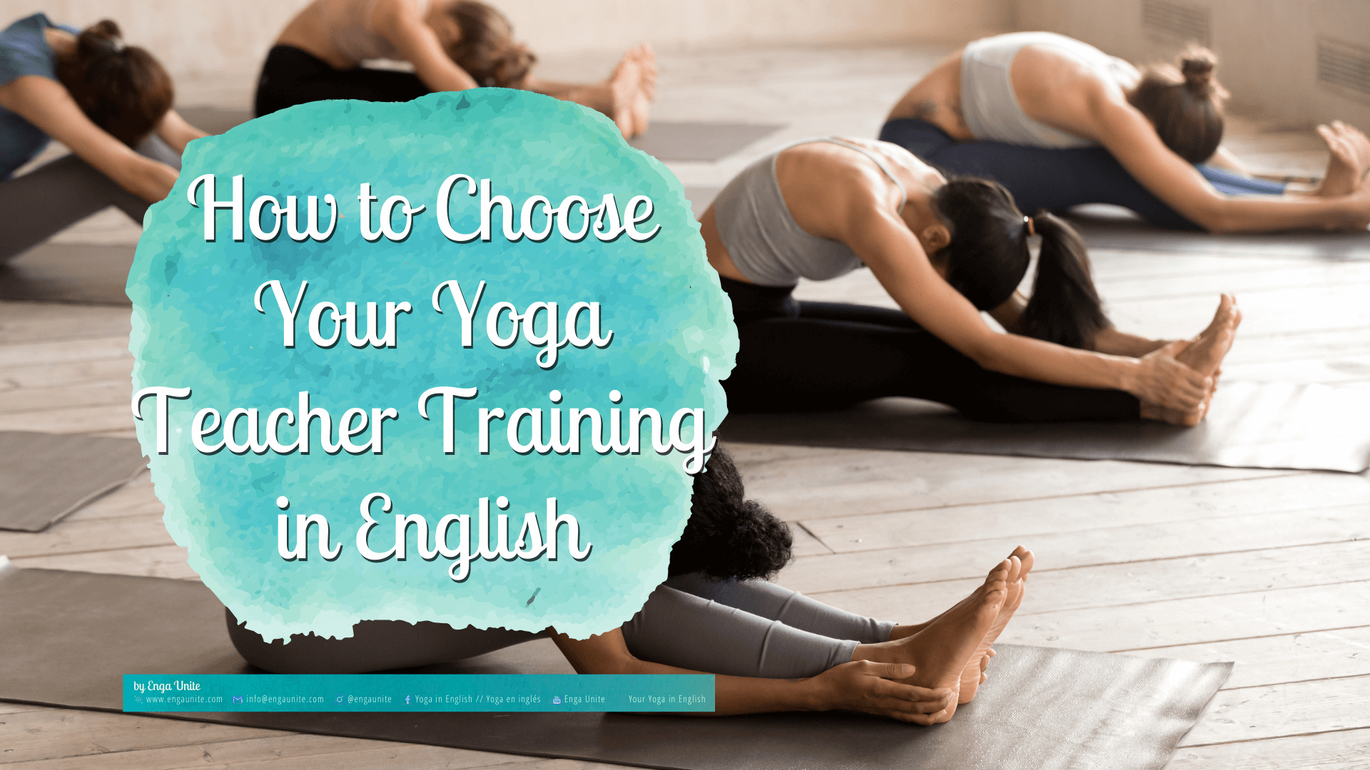 How to choose your yoga teacher training in English